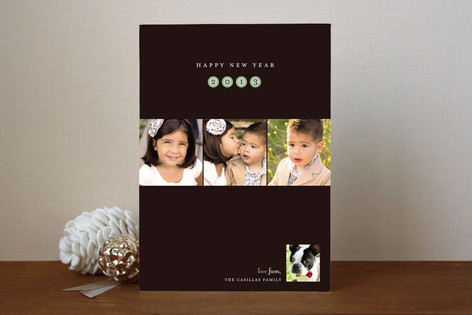 New Year Portraits New Year Photo Cards