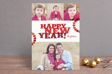 Bright + Fun New Year Photo Cards