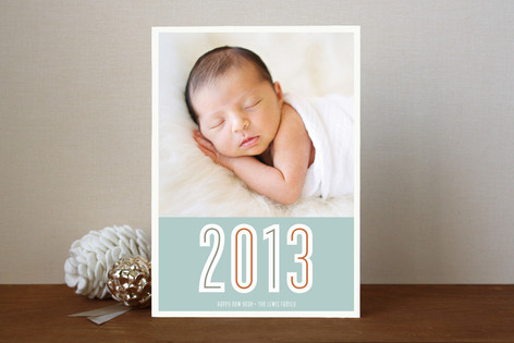 Peace Love & Hope New Year Photo Cards