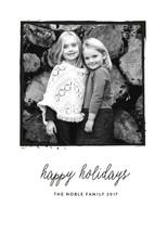 Medium Format New Year's Photo Cards