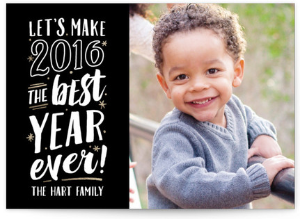 Best Year Ever! New Year's Photo Cards