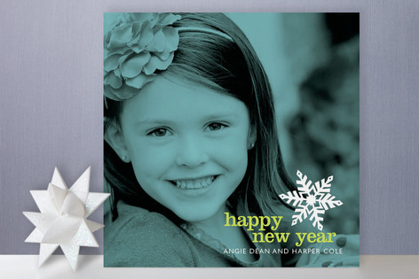 Winter Bop New Year Photo Cards