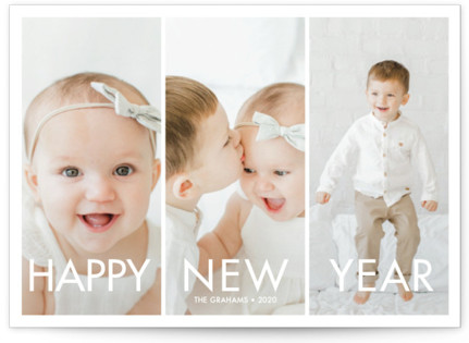 More the Merrier New Year's Photo Cards