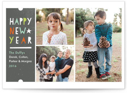 Little Wishes New Year's Photo Cards