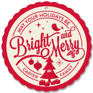 Stamped Holiday Holiday Ornament Cards