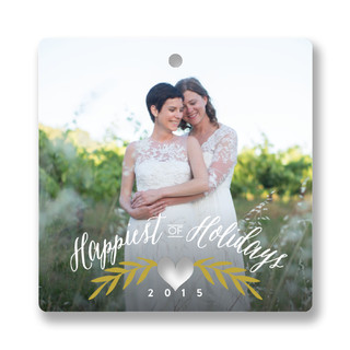 Season of Love Holiday Ornament Cards