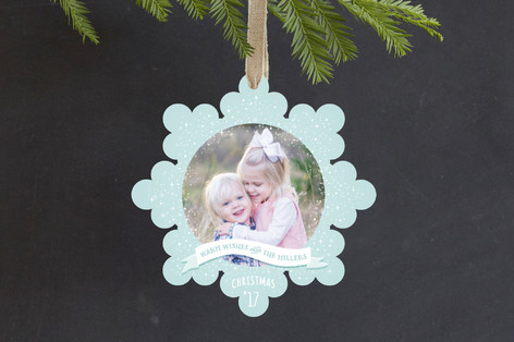 Winter Wonderland Holiday Ornament Cards