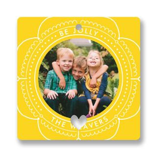 Be Jolly Together Holiday Ornament Cards