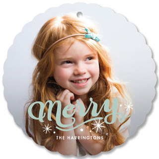 Merry Holiday Ornament Cards