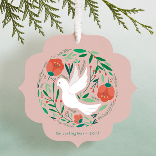 Peace Dove Botanicals Holiday Ornament Cards