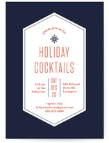 Tip Top Shape Holiday Party Invitations