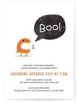 BOO! Holiday Party Invitations