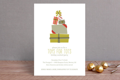 The Gifting Tree Holiday Party Invitations
