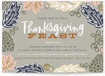Thanksgiving Feast Leaves