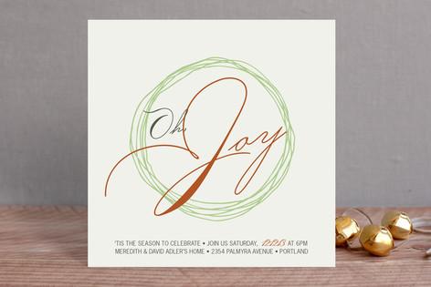 Oh Joy Holiday Party Invitations