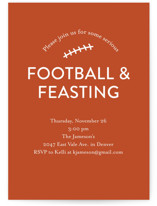 Football & Feasting