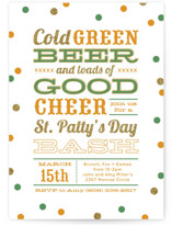 Green Beer Good Cheer