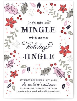 Mingle Jingle Holiday Party Invitations