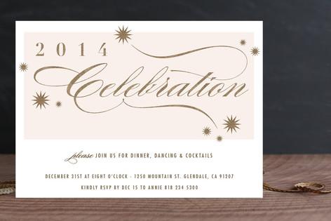 Celebration Holiday Party Invitations