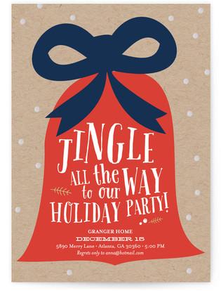 Jingle All the Way Holiday Party Invitations