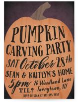 Pumpkin Carving Party