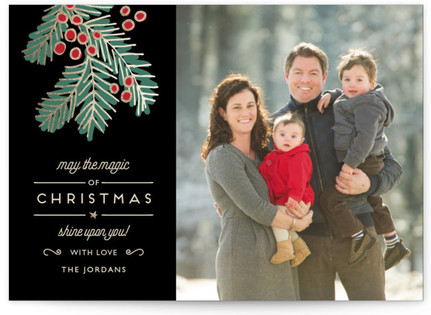 Christmas Magic Holiday Postcards