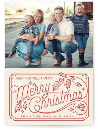 Christmas Time Holiday Postcards