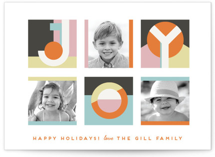 Geo Joy Holiday Postcards