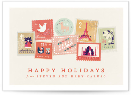 Holiday Stamps Holiday Postcards