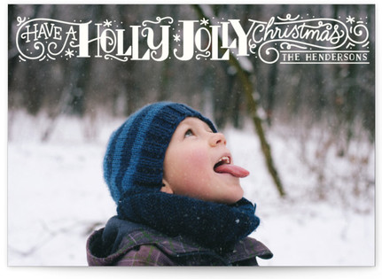 Holly Jolly Christmas Holiday Postcards