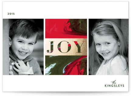 Marbled Joy Holiday Postcards