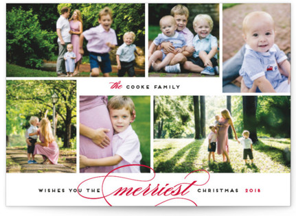 Merriest Wishes Holiday Postcards