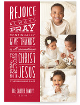 Rejoice And Give Thanks by Lea Delaveris