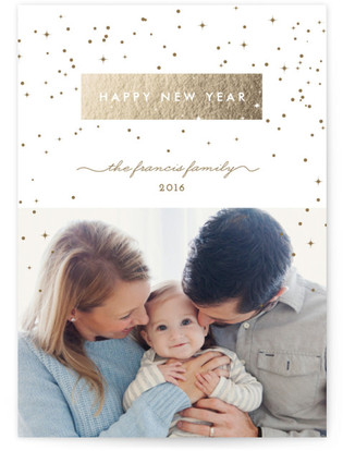 Shimmer Holiday Postcards