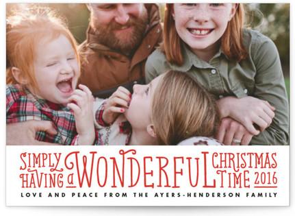 Simply Christmas Holiday Postcards