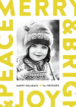 Boldly Stated Holiday Postcards
