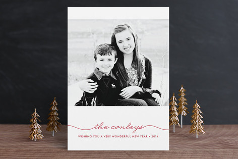 Beautifully Penned Holiday Postcards