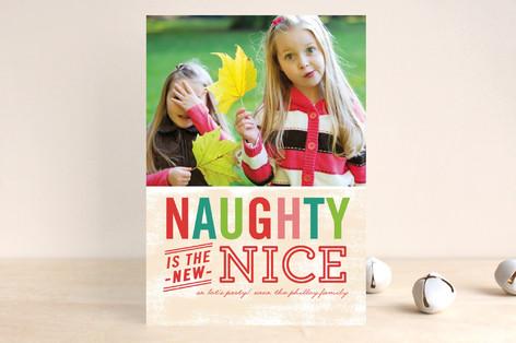 Naughty is Nice Holiday Postcards