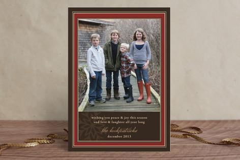 Snowflake Frame Holiday Postcards