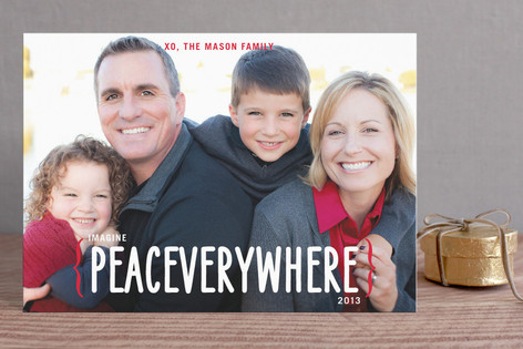 Peace Everywhere Holiday Postcards