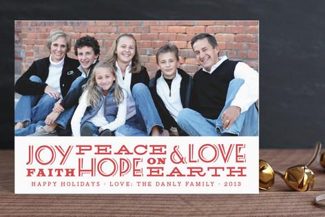 Glad Tidings Holiday Postcards