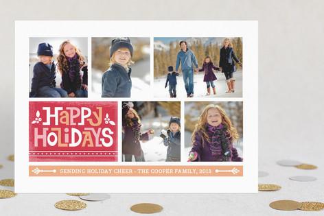 Holiday Blocks Holiday Postcards