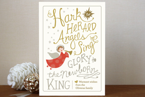 Angels Sing Holiday Postcards