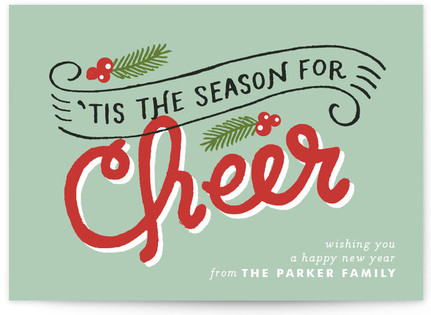 Cheer Season Holiday Postcards