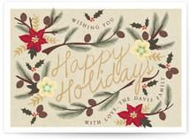 Holiday Flowers by Ana de Sousa