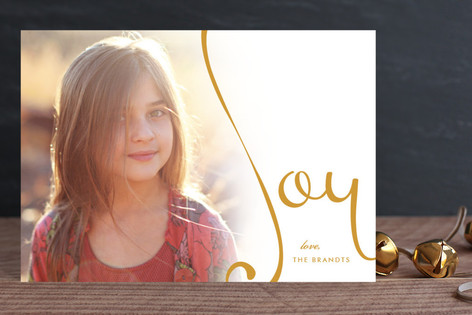 Overflowing Joy Holiday Postcards
