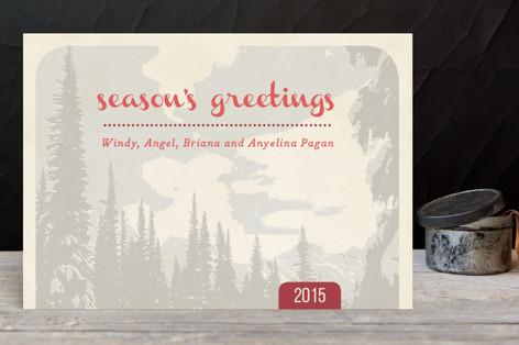 Mountain Pine Holiday Postcards