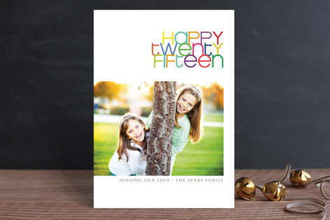 Twenty-Fifteen Holiday Postcards