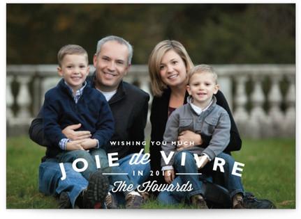 Joie de Vivre Holiday Postcards