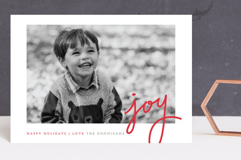 Dotted Joy Holiday Postcards